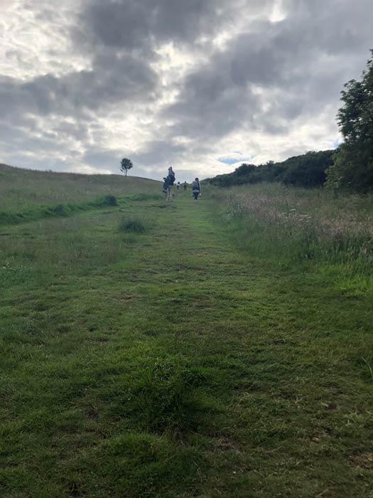 Aufstieg zu Arthur's Seat über Dunsapie Loch