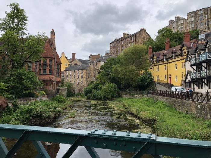 Brücke Blick Dean Village