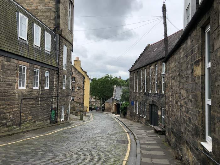 Weg zum Dean Village