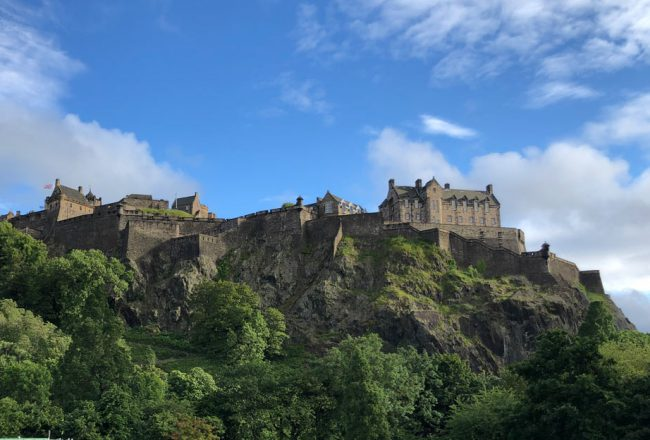 Edinburgh Castle Blogbeitrag