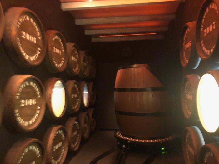 Fahrt Holzfass Scotch Whisky Experience