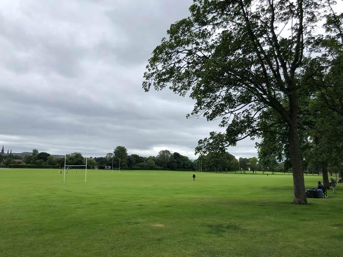Inverleith Park neben Royal Botanic Garden