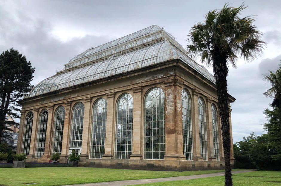Royal Botanic Garden Edinburgh viktorianisches Gewächshaus