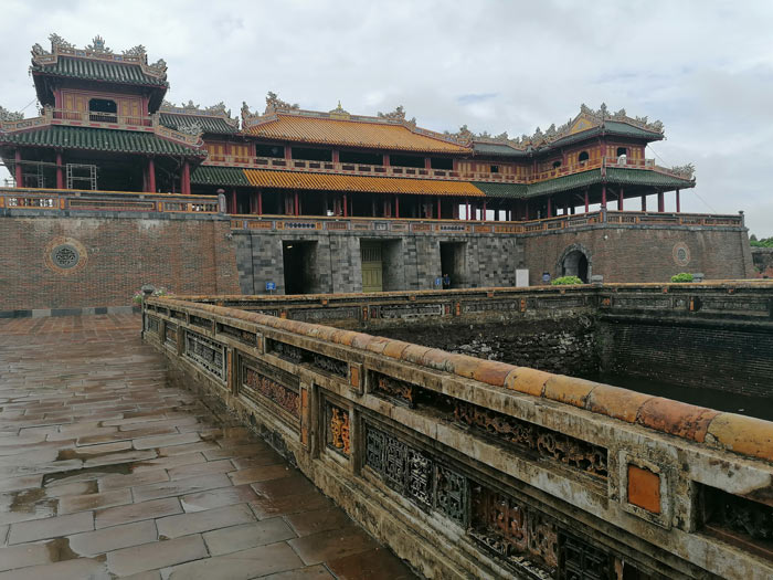Haupteingang Ngo Mon Tor zur Imperial City in Hue