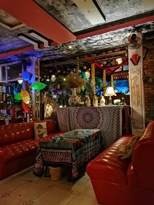 Gemütliche Bar in Hue