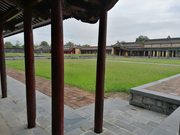 Weitläufiges Areal in der Imperial City