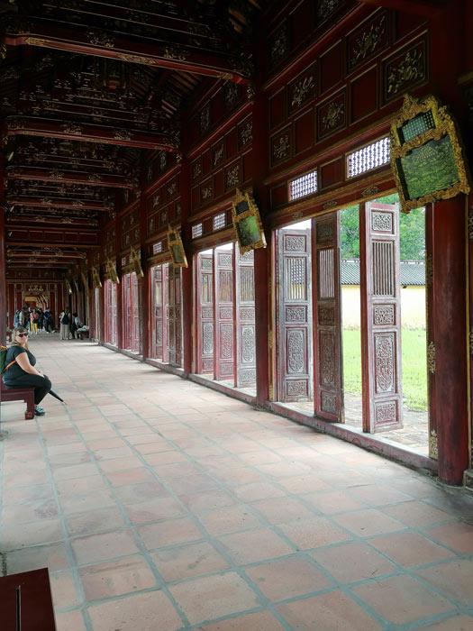 Impression in der Imperial City Hue