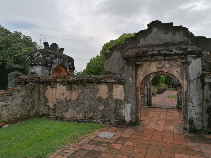 Ruine in der Kaiserstadt Hue
