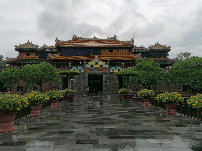 Thai Hoa Palast in der Imperial City