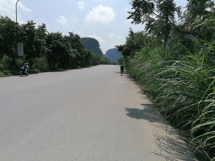 Straße in Trang An bei Ninh Binh