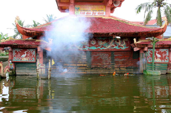 Wasserpuppentheater Thang Long