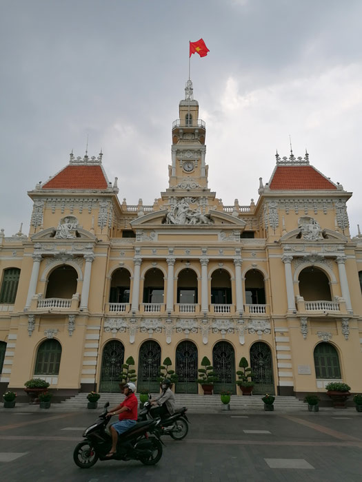 Altes Rathaus - Volkskomitee in Saigon