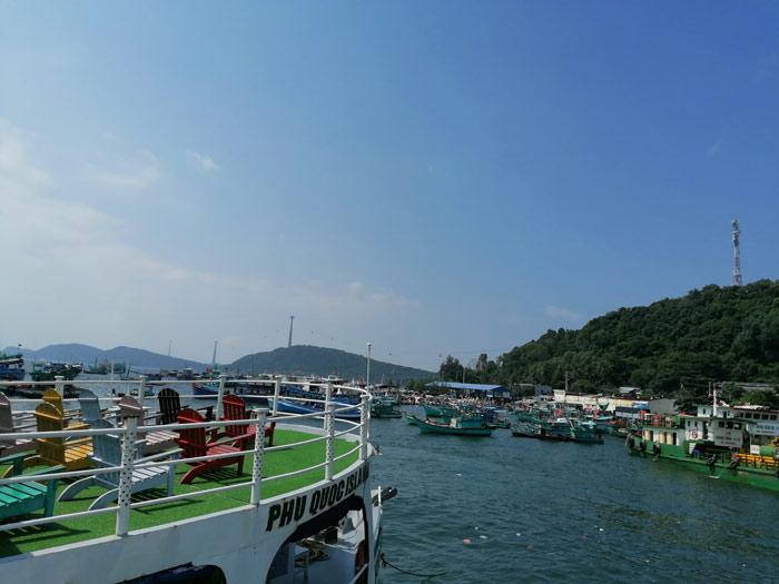 An Thoi Hafen im Süden von Phu Quoc