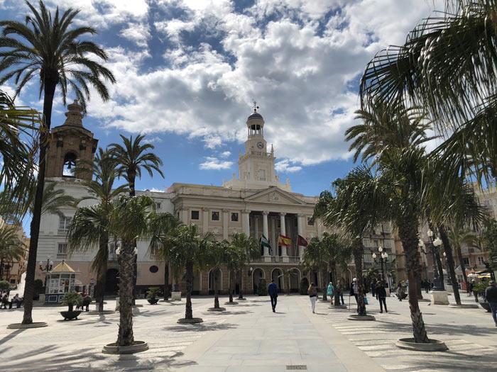 Ayuntamiento Rathaus Cadiz