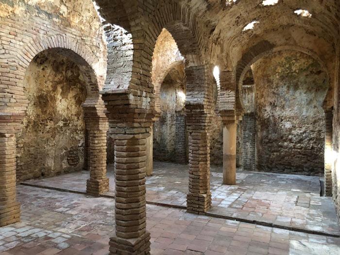 Banos Arabes Gewölbemauern
