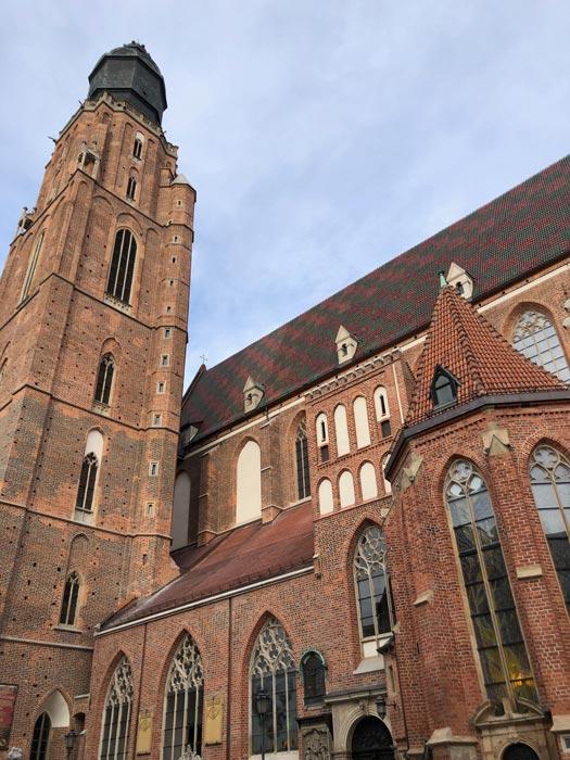 Elisabethkirche in Wroclaw