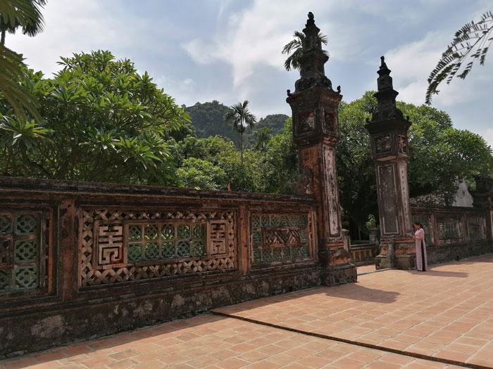 Hoa Lu Eingangstor