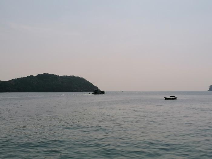 Inseln Abenddämmerung vor Phu Quoc
