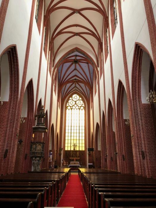 Magdalenenkirche Breslau von innen