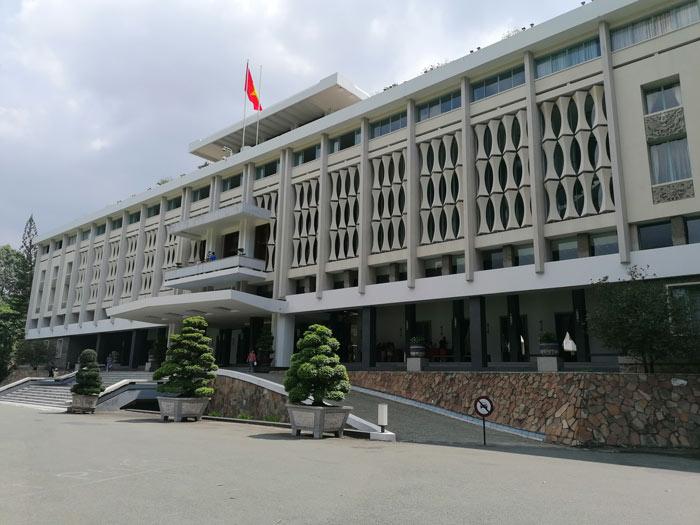 Palast der Wiedervereinigung in Saigon