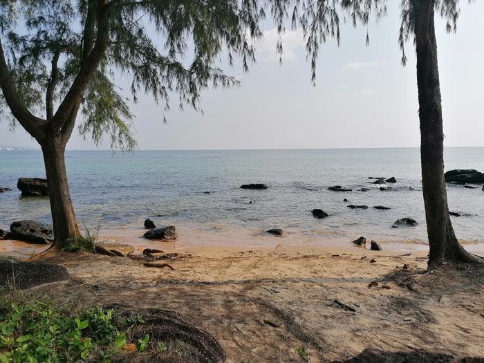 Blick aufs Meer in Phu Quoc