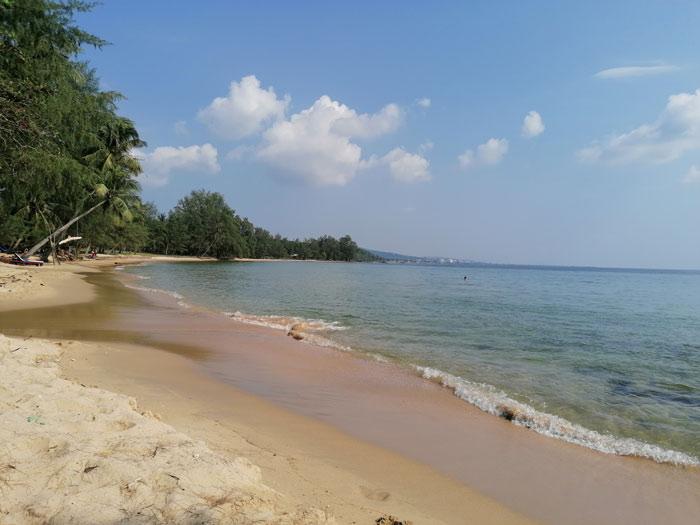 Strand auf Phu Quoc während Vietnam Reise