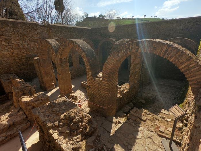 Ruinen der Banos Arabes