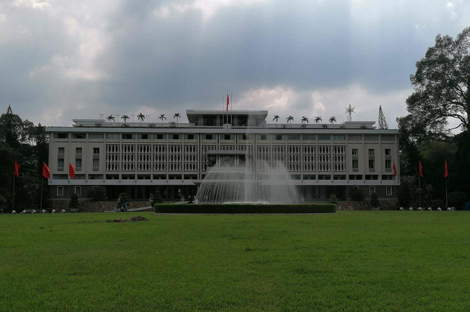 Wiedervereinigungspalast Saigon Ho-Chi-Minh-Stadt