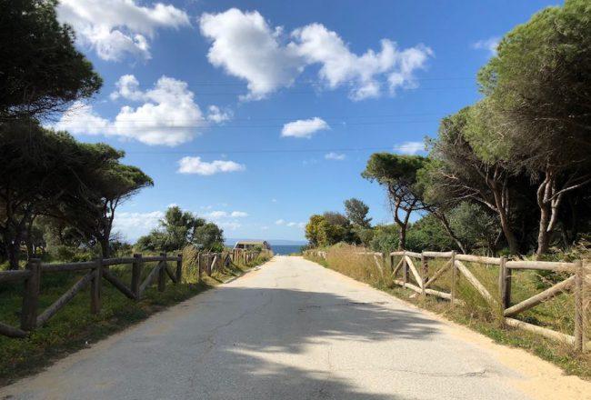 Zufahrt zum Strand bei Tarifa