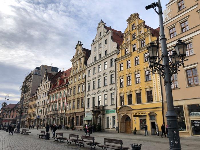 Großer Ring Alter Marktplatz in Breslau