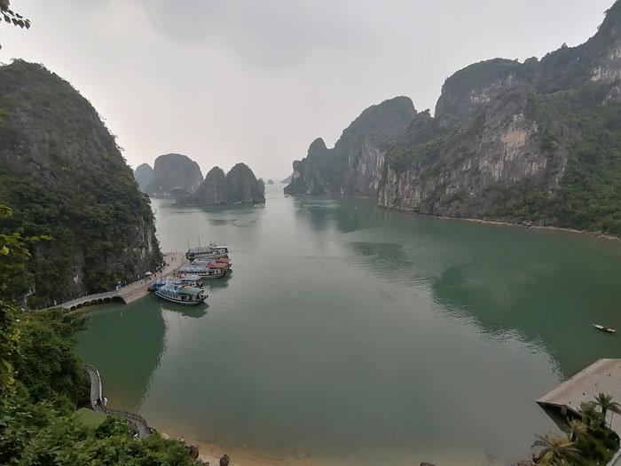Bucht vor Hang Sung Sot Höhle