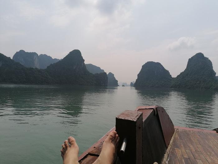 Ausflug Bootstour in die Ha Long Bucht