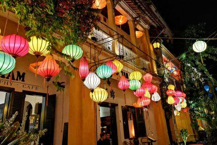 Hoi An Bunte Lampions Altstadt