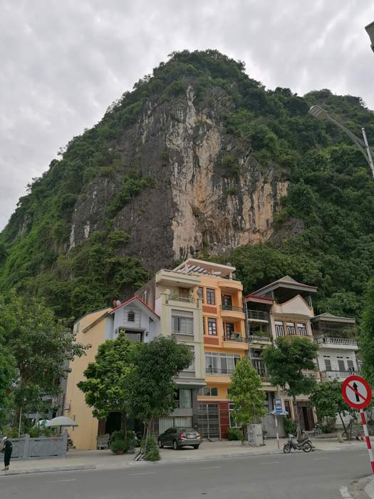 Poem Mountain in Hon Gai