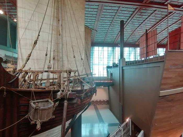 SEA Aquarium Geschichte Singapur als Seefahrer