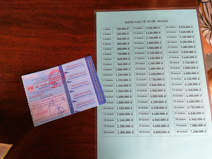 Eintrittskarten für Altstadt Hoi An