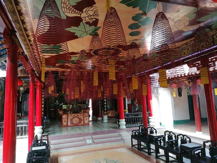 Tempelanlage von innen