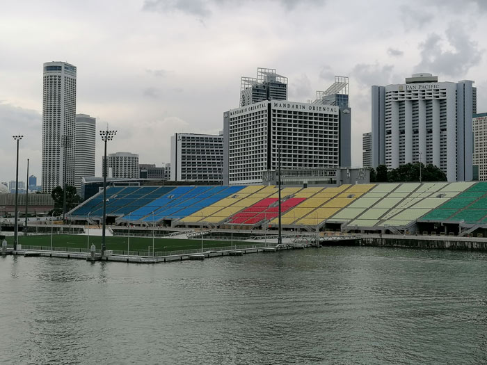 The Float in der Marina Bay