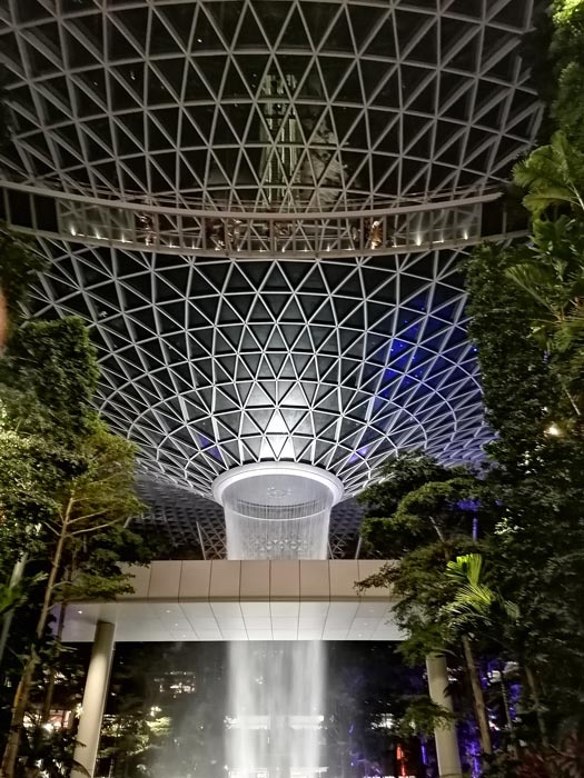 The Jewel Rain Vortex Changi Airport