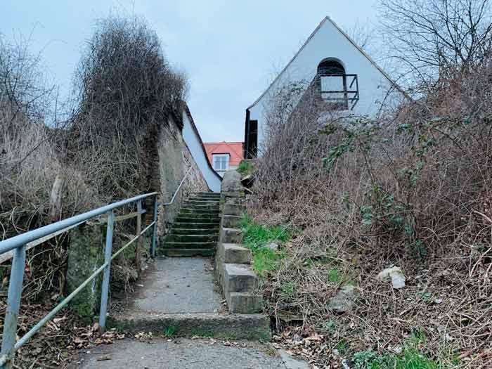 Aufstieg zur Begerburg im Plauenschen Grund