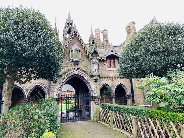 Holy Village in Highgate
