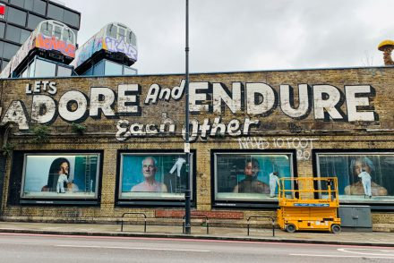 London Insider Tipps - Shoreditch Let´s adore and endure each other