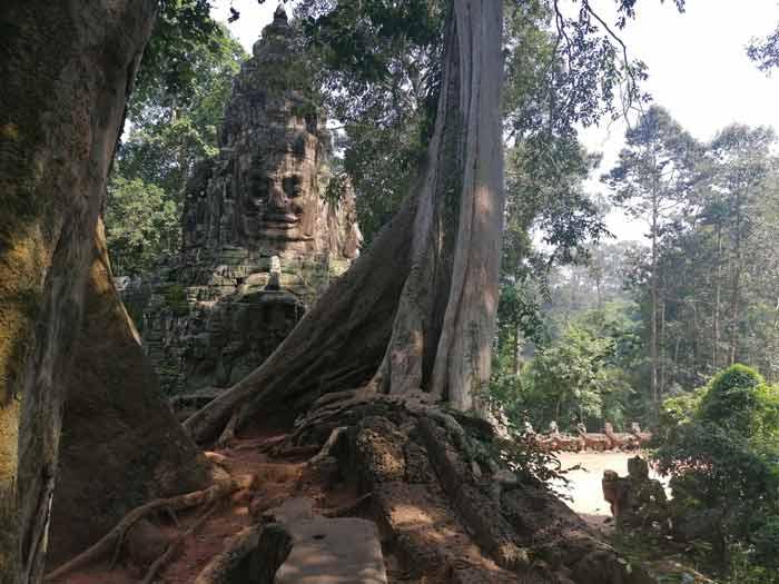 Victory Gate Osttor zu Angkor Thom