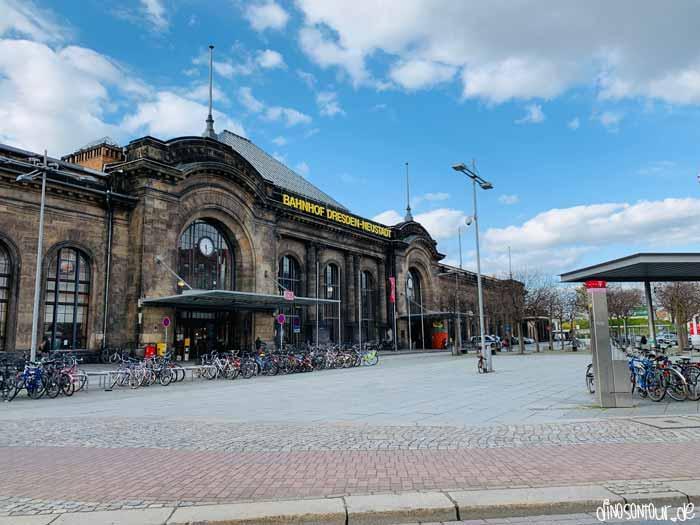 Bahnhof Neustadt in Dresden