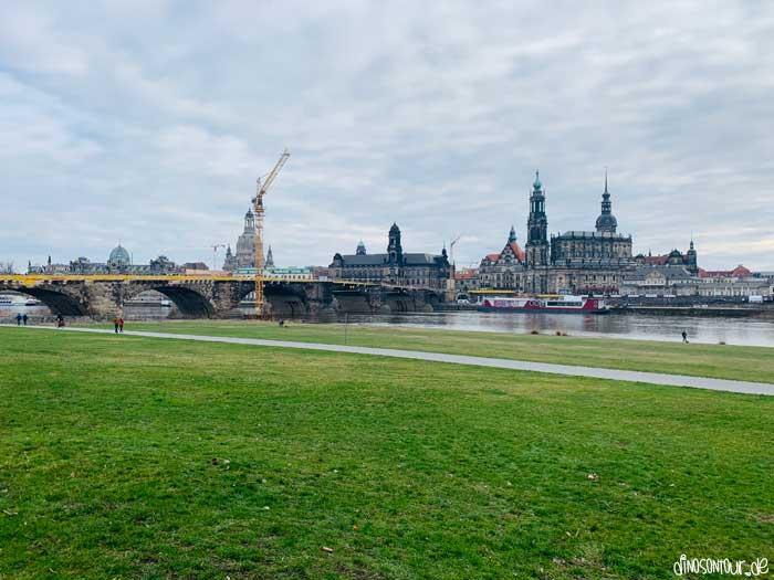 Canaletto Blick auf die Dresdner Altstadt