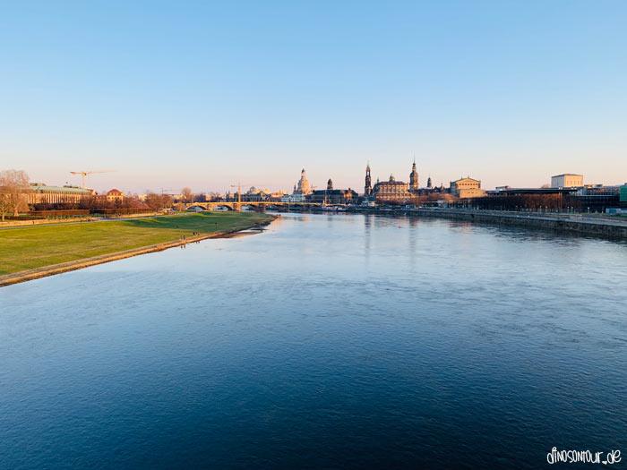 Dresden Blick auf die Altstadt