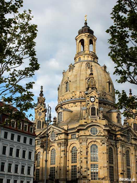 Frauenkirche Sonnenuntergang
