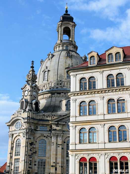 Frauenkirche am Neumarkt Dresden