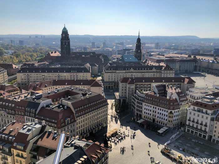 Frauenkirche von oben