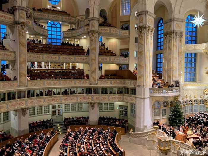 Christvesper Weihnachten in der Frauenkirche